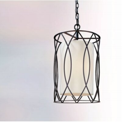 Balducci Entry Pendant Size: Medium, Finish: Silver/Gold