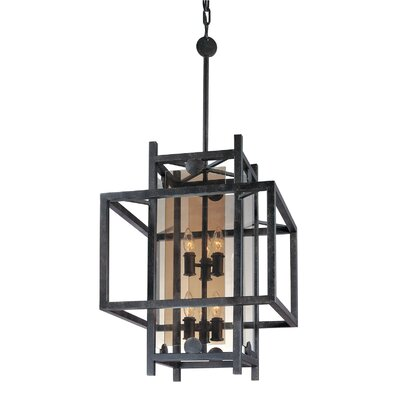 Pascal 8-Light Foyer Pendant Size: 38.25 H x 18 W x 18 D