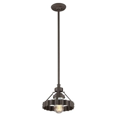 Sawatt 1-Light Mini Pendant Size: 11 H x 11.5 W x 11.5 D