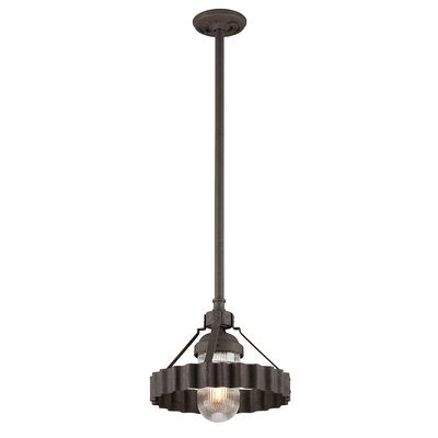 Sawatt 1-Light Mini Pendant Size: 13 H x 14 W x 14 D