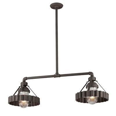 Sawatt 2-Light Kitchen Island Pendant