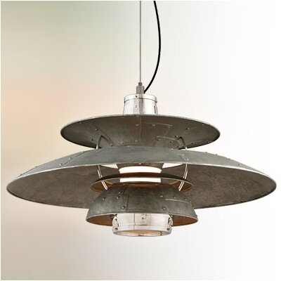 Maribel 1-Light Bowl Pendant Size: Extra Large