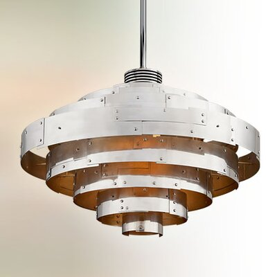 Melita 1-Light Bowl Pendant Size: Extra Large