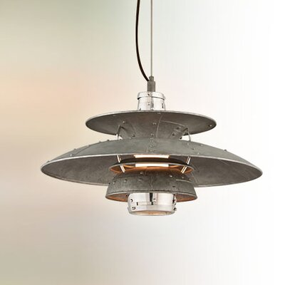Idlewild 1-Light Bowl Pendant Size: Medium