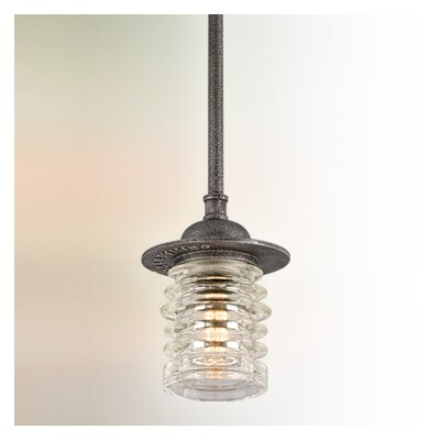 Laquisha 1-Light Mini Pendant Size: Small
