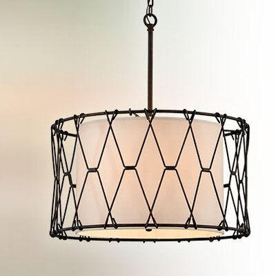 Greenwald 6-Light Drum Pendant