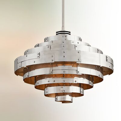 Melita 1-Light Bowl Pendant Size: Medium