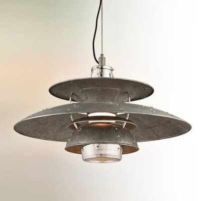 Idlewild 1-Light Bowl Pendant Size: Large