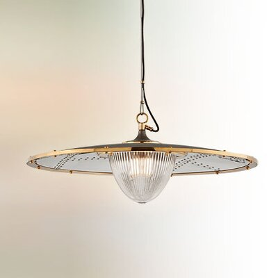 Mervela 1-Light Bowl Pendant Size: Large