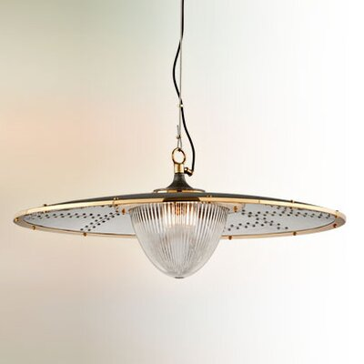 Mervela 1-Light Bowl Pendant Size: Extra Large