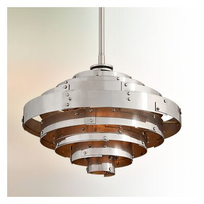 Melita 1-Light Bowl Pendant Size: Small
