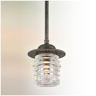 Laquisha 1-Light Mini Pendant Size: Large