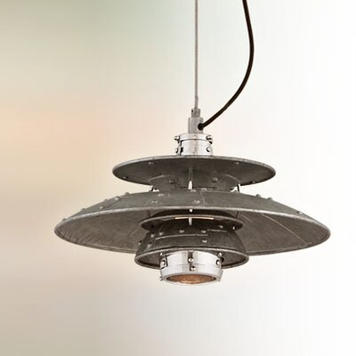 Idlewild 1-Light Bowl Pendant Size: Small