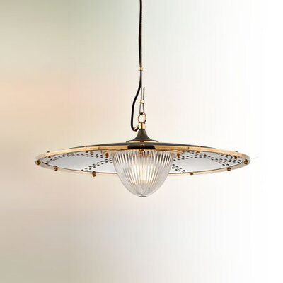 Mervela 1-Light Bowl Pendant Size: Medium