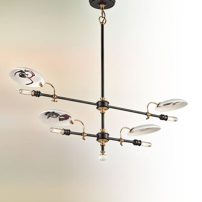 Dinner Date 4-Light Kitchen Island Pendant
