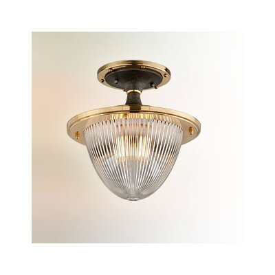Mervela 1-Light Semi-Flush Mount