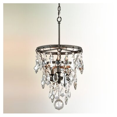 Ailbe 3-Light Crystal Pendant