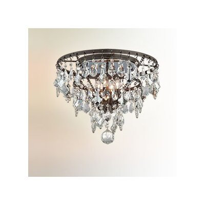 Meritage 4-Light Flush Mount