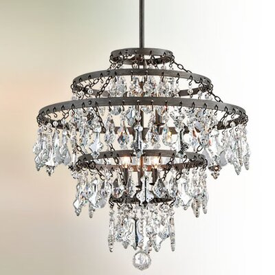 Ailbe 6-Light Crystal Pendant