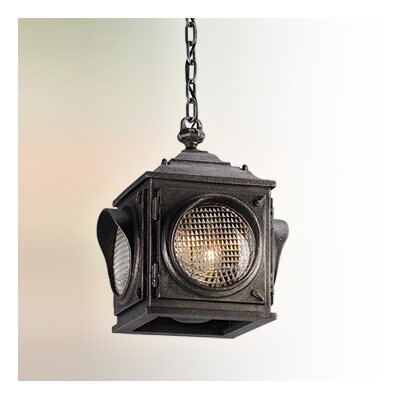 Main Street 1-Light Foyer Pendant