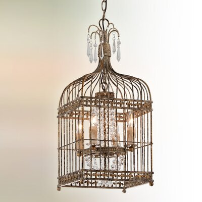 Amelie 4-Light Foyer Pendant