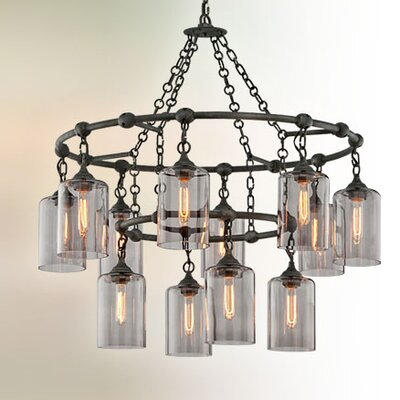 Norvin 12-Light Cascade Pendant