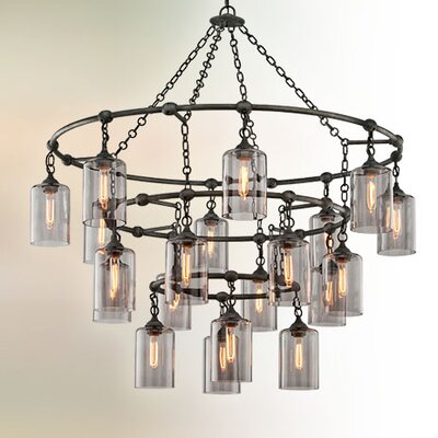 Norvin 20-Light Cascade Pendant