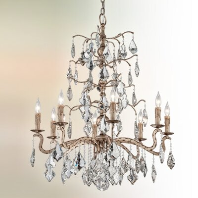 Beames 8-Light Crystal Pendant