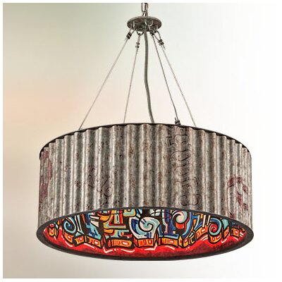 Defeo 6-Light Drum Pendant
