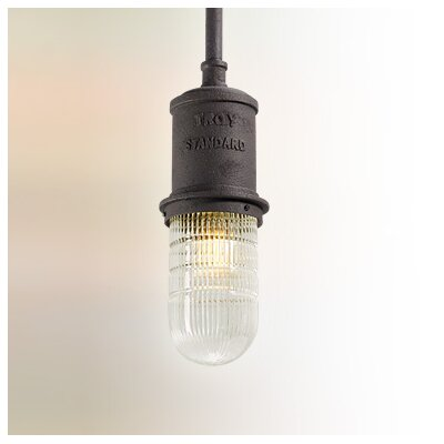 Dock Street 1-Light Mini Pendant Size: Large
