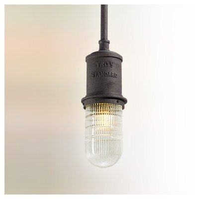 Odelia Industrial 1-Light Mini Pendant Size: Small