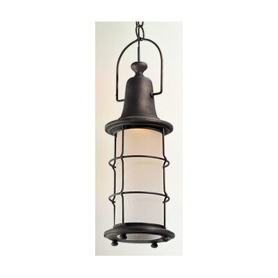 Farrell 1-Light Metal Foyer Pendant