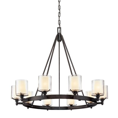 Bevill 10-Light Candle-Style Chandelier