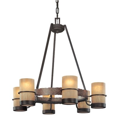 Patton 6-Light Shaded Chandelier