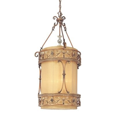 Heirloom 4-Light Drum Foyer Pendant