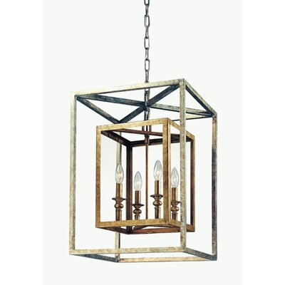 Tennille 4-Light Foyer Pendant