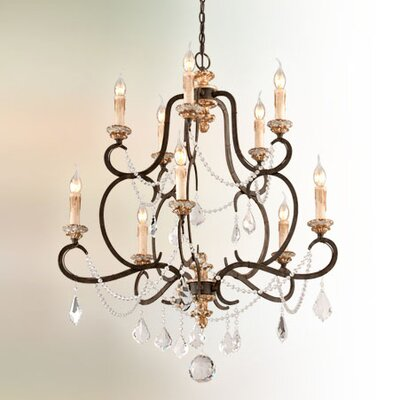 Beaman 10-Light Candle-Style Chandelier