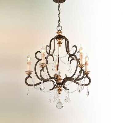 Beaman 5-Light Candle-Style Chandelier