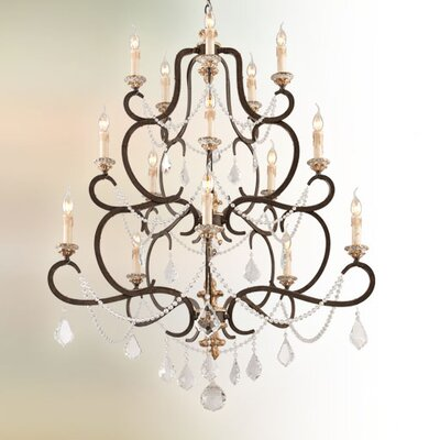 Beaman 15-Light Candle-Style Chandelier