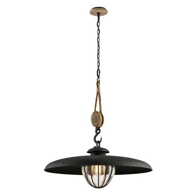 Torrence 1-Light Metal Pendant Size: 33 H x 32 W x 32 D