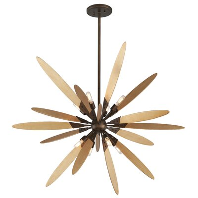 Dragonfly 8-Light Foyer Pendant