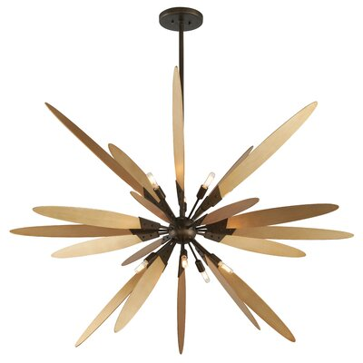 Dragonfly 10-Light Foyer Pendant