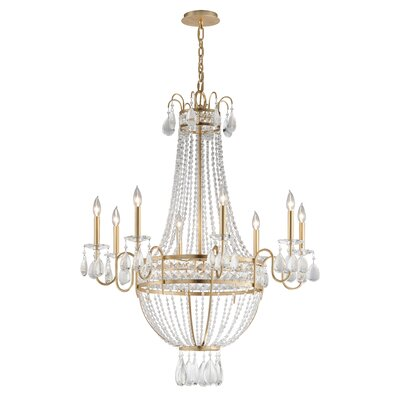 Pierre 8-Light Candle-Style Chandelier