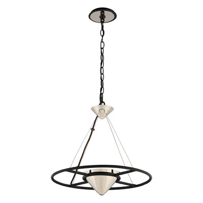 Zero Gravity 1-Light Pendant Size: 17.5 H x 18.25 W x 18.25 D