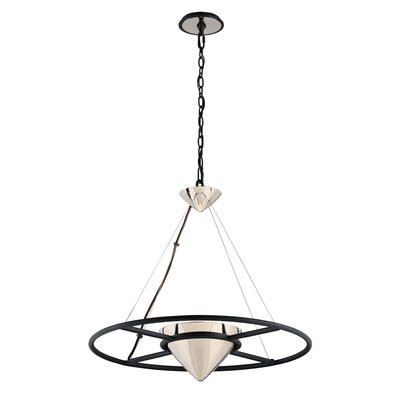 Zero Gravity 1-Light Pendant Size: 24 H x 25.25 W x 25.25 D