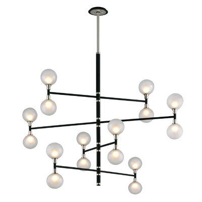 Ewalt 16-Light Cascade Pendant
