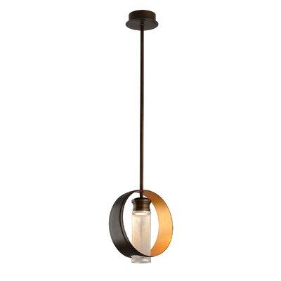 Beringer 1-Light Pendant Size: 13.75 H x 12 W x 4.5 D