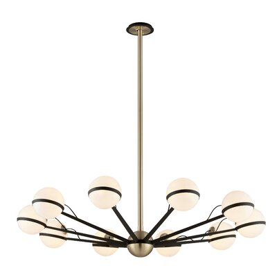 Ace 10-Light Sputnik Chandelier