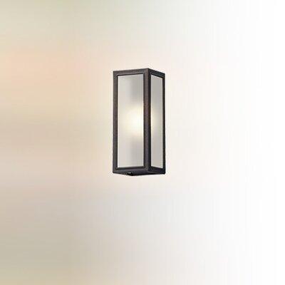 17 Stories Satyadev 1 Light Glass Shade Outdoor Flush Mount