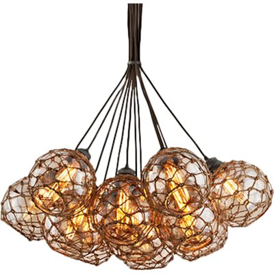 Rabin 13-Light Cluster Pendant